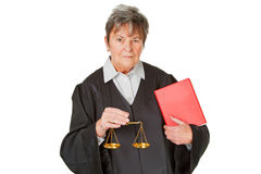 Avvocato femminile Fotografie Stock Libere da Diritti
