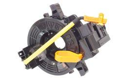 Avvolga i cavi per collegare gli airbag del gambo della colonna Fotografia Stock Libera da Diritti