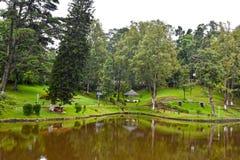 Avvärjer sjön, Shillong Royaltyfri Bild