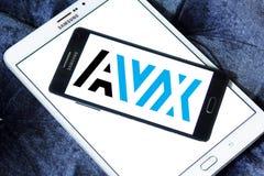 AVX Korporation logo royaltyfri fotografi