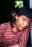 awa巴西guaja印第安当地人 免版税图库摄影