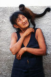 awa巴西guaja印第安当地人 免版税库存照片