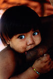 Awa indiano nativo Guaja de Brasil imagem de stock royalty free