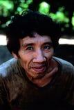 Awa indio nativo Guaja del Brasil Imágenes de archivo libres de regalías