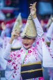 Awa Odori festival in Tokyo Japan stock photo