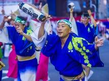 Awa Odori festival in Tokyo Japan stock photography