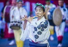 Awa Odori festival in Tokyo Japan stock images