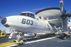 AWAC Jet Royalty Free Stock Photography