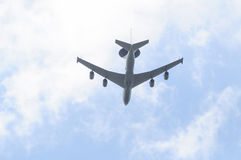 An AWACS. (Airborne Warning And Control System Stock Photo