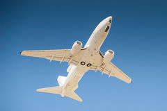 AWACs aircraft. In flight, blue sky Royalty Free Stock Photography