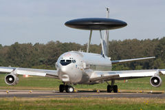 AWACS fly by Stock Photography