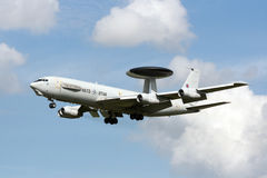 AWACS fly by Royalty Free Stock Images