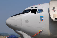 Awacs - Nato E-3A Aicraft - air fest Slovakia Stock Photo