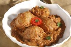 Awadhi Dum Aloo - A potato dish from India Royalty Free Stock Image