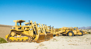 Awaiting the Construction Recovery Stock Photography