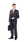 Awaiting a handsome young businessman Royalty Free Stock Image