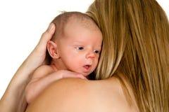 Awake baby Stock Photo