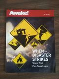 Awake  no 5 2017. AWAKE  magazine publish by Jehovah's Witnesses   second most circulated magazine  in the world Stock Photo