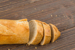 Awaken from white bread Royalty Free Stock Photo