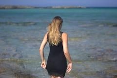Awakening to the sea Royalty Free Stock Photo