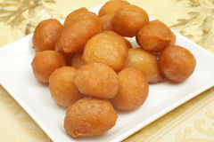 Awama ramadan cakes. Awama or awamat, Middle Eastern syrup-soaked fried sponge ball which is a common Ramadan treat and a Lebanese dessert
