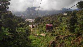 Awana SkyWay agli altopiani di Genting, Malesia fotografia stock libera da diritti