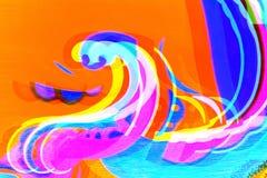 Awanturnicza fantazja ilustracja wektor