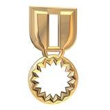 Award. 3D illustration royalty free illustration