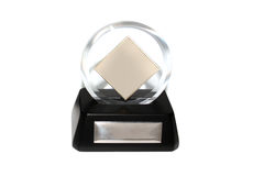 Award. For the best job of the year Royalty Free Stock Photo