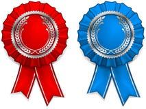 Award arms and ribbons Royalty Free Stock Photos