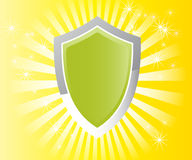Award badge. Winner award badge on retro Royalty Free Stock Image