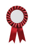 Award badge. Isolated on a blue background Royalty Free Stock Photos