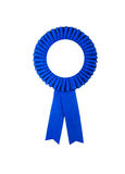 Award badge ribbon. Isolated on a white background Royalty Free Stock Images