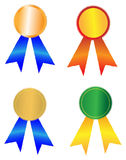 Award badges Royalty Free Stock Image