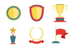Award badges collection Stock Images