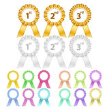 Award badges Stock Photos