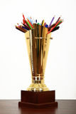 Award for best pencils Stock Photos