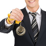 Award Businessman. Stock Photo