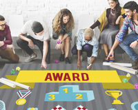Award Ceremony Certification Challenge Win Concept Royalty Free Stock Photos
