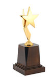 Award of Champion. Trophy isolated with white background. Winner award of Champion Royalty Free Stock Photo