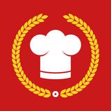 Award, cook, chef, hat, restaurant, icon, , button, illustration, set, badge, kitchen, star, cap, symbol, Profesional chef Royalty Free Stock Photos