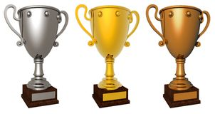 Award cup. Stock Photo