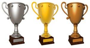 Award cup. Stock Photo