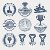 Award design elements Royalty Free Stock Photos
