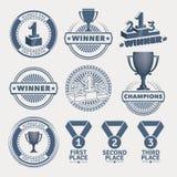 Award design elements Royalty Free Stock Photos