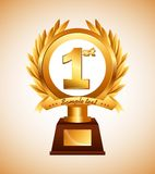 Award design Royalty Free Stock Images
