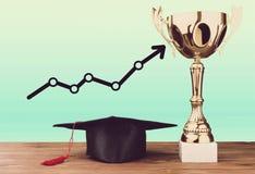 Award. Education winner champ school best degree Stock Images