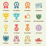 Award elements Royalty Free Stock Images