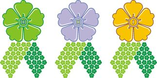 Award flower Stock Images