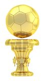 Award football sport trophy cup Stock Image